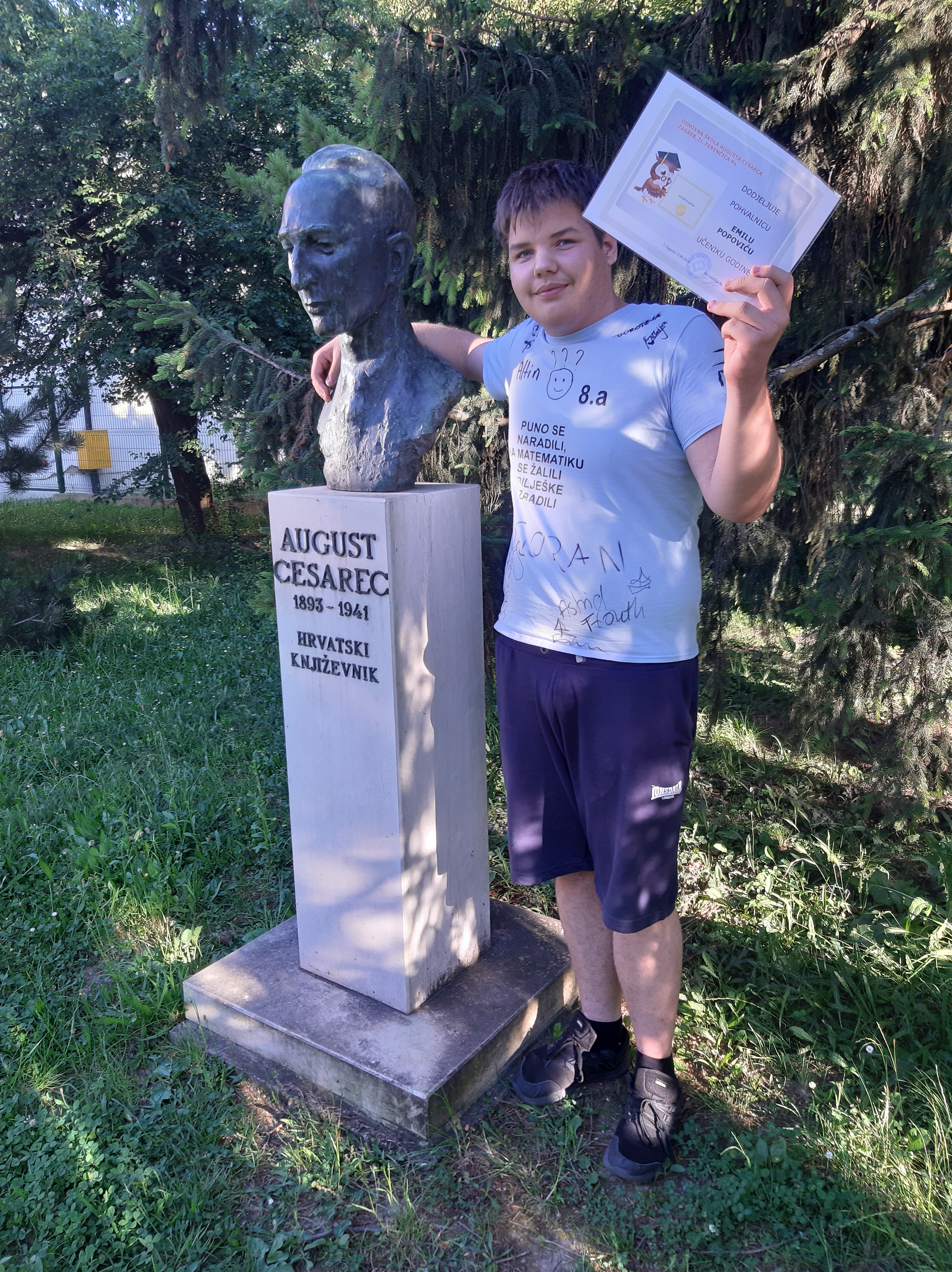 Osnovna Skola Augusta Cesarca Zagreb Naslovnica Dodjela